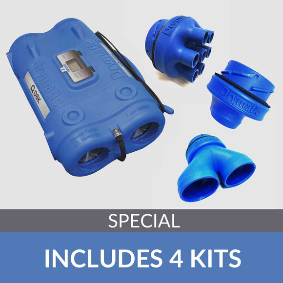 Drymatic II Full Kit - Includes Injection, Y and Reducer attachments - DBKUSA.com