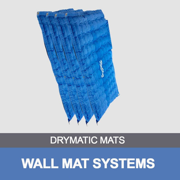 4m x 0.5m Drymatic Wall Mat (13' x 20