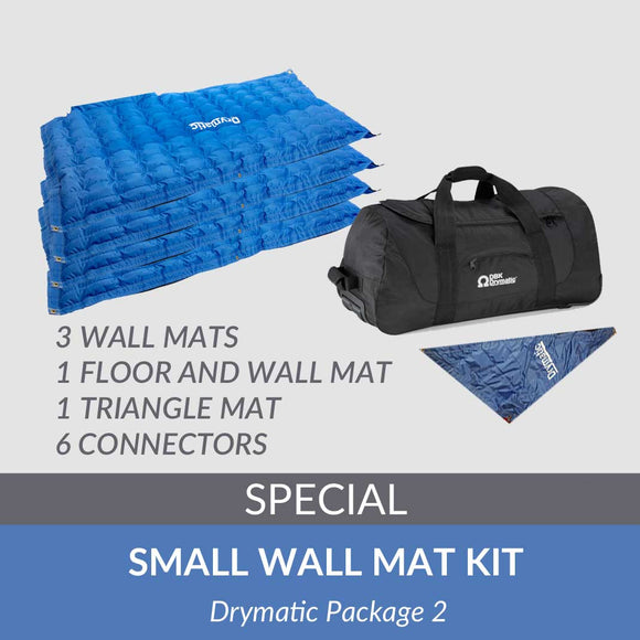 Small Wall Mat Kit - Variety of shorter length wall mats - DBKUSA.com