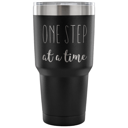 One Step at a Time Tumbler