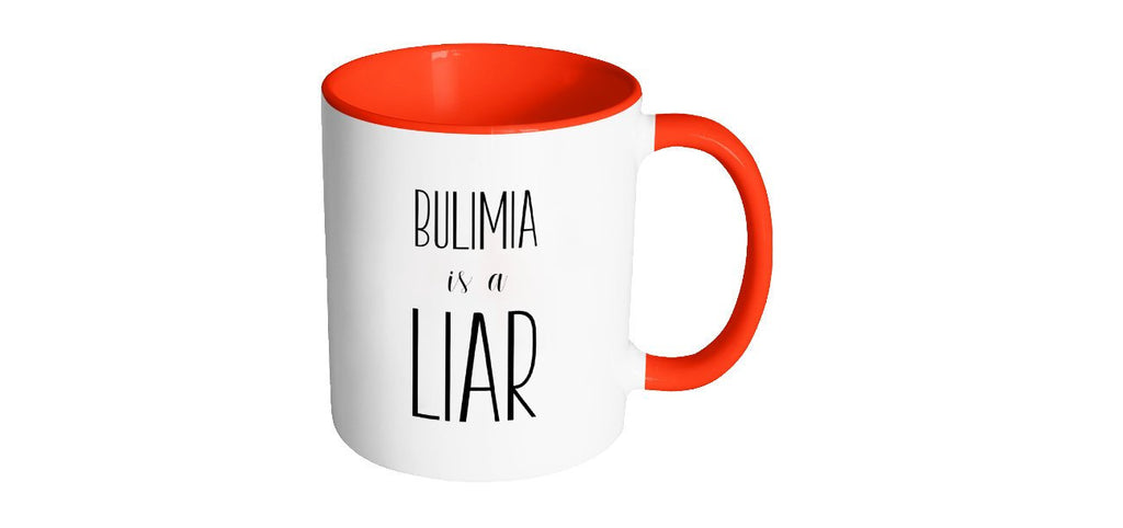 Bulimia is a Liar Coffee Mug, Recovery Gifts, Eating Disorder, Second Chance Mugs, Mental Health Mugs, Get Well Personalized Gift S088