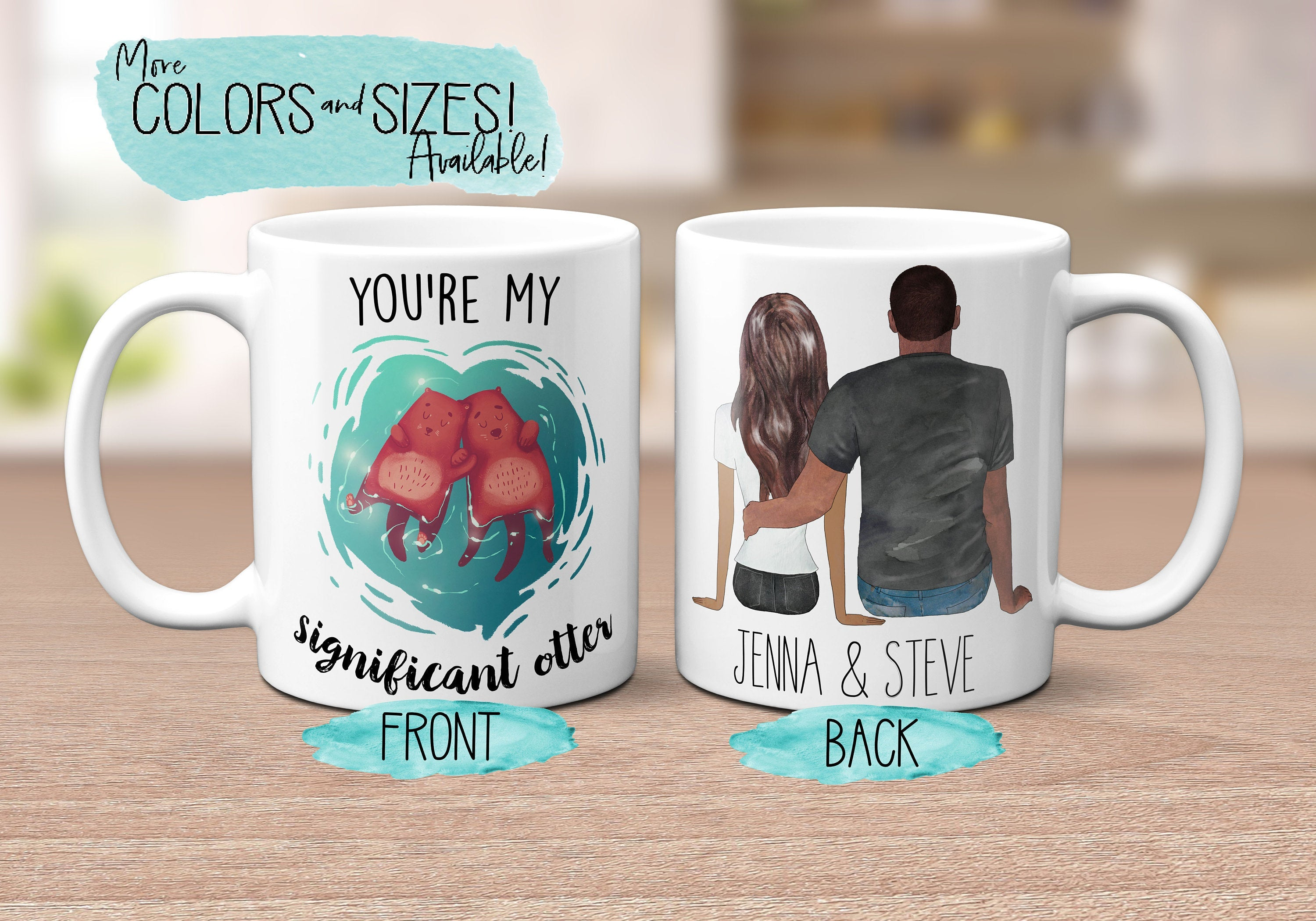 Anniversary Gift for Boyfriend You're My Significant Otter Coffee Mug Pun Mug Funny Coffee Mug Husband Mug Wife Gift Anniversary S0156