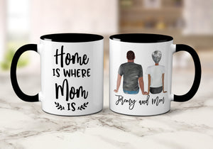 Custom Coffee Mug for Mom from Son Mom Birthday Gift from Son Gifts to Mom from Sons Mom Christmas Present from Son Personalized S1019