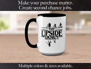 Stranger Things Season 3 The Upside Down Stranger Things Netflix Gift For Him Her Gift For Friend Demogorgon Ceramic Coffee Mug S1136