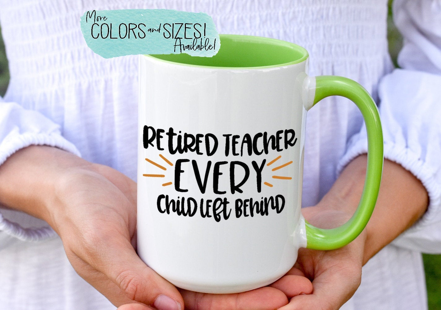 Teacher Retirement Gift, Retired Teacher Every Student Left Behind Coffee Mug, Happy Retirement Teacher Gift, Retiring Teacher Tea Cup S309