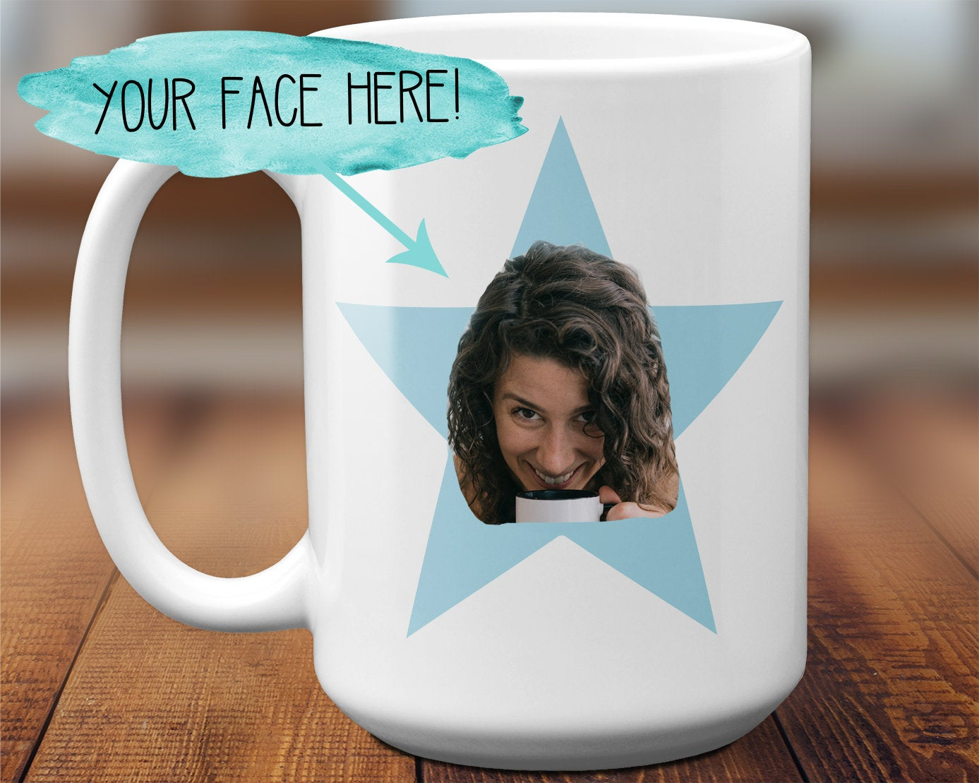 The Office Star Mug The Office TV Show The Office gift The Office Star Face Mug Gift For Best Friend The Office Inspired Gift S1247