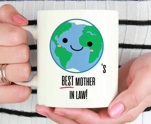 Mother In Law Coffee Mug Mother-In-Law Gifts New Mother In Law Wedding Gift Mothers Day Gift for Mother In Law Best Mother In Law Tea S689