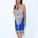 Sexy Bohemian Floral Off Shoulder Dress - 5 Colours