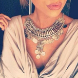 Coin Tassel Necklaces