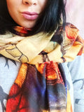 Fall In Love Blanket Scarf