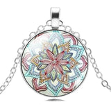 Free Mandala Lotus Flower Necklace