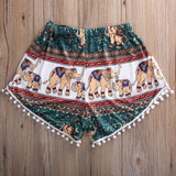 Pom Pom Golden Elephant Shorts