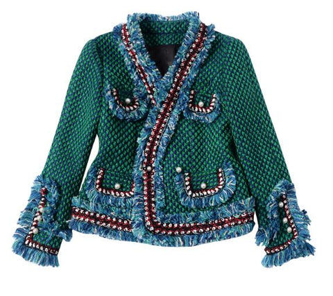 Cozy Lover Fringed Jacket