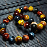 Tiger Eye Trinity Power Stones Bracelet