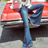 Woodstock Flared Denim Bell Bottoms