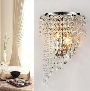 High Grade Fashion Crystal Wall Lamp