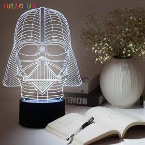 Star Wars Darth Vader 3D Table Lamp/Night Light