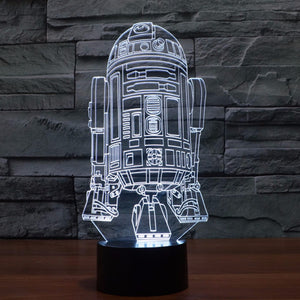 Night Lights 3D Lamp Star Wars