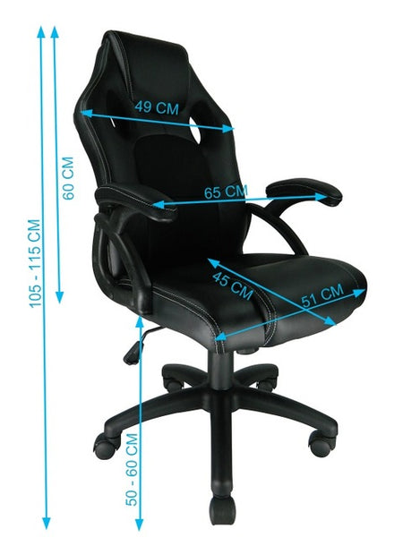 Ergonomic Swivel Gaming/Office Chair