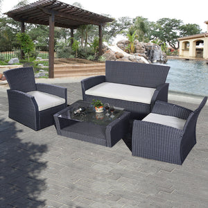 Giantex 4PCS Outdoor Patio Furniture Set