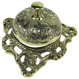 Antique Style Solid Brass Hotel Counter Bell
