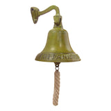 Large Brass Hanging Titanic Bell