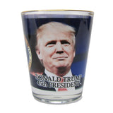 President Donald J Trump Shot Glass Novelty Xmas Gift