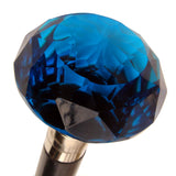 Cobalt Blue Walking Stick