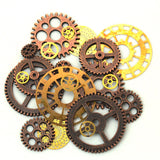 Steampunk Bag Of Gears&Cogs Costume Accessories