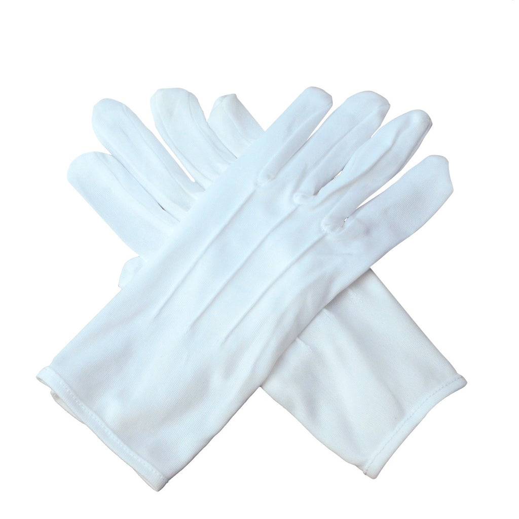 White Formal Dance/Parade/Guard Uniform Gloves