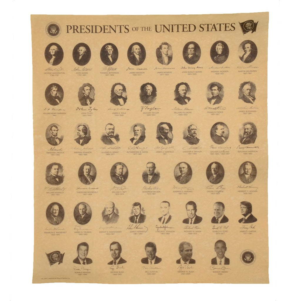 Replica Presidents of the US Poster