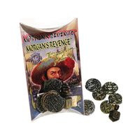 Morgan's Revenge Pirate Treasure Replica Gold Coins & Top Game Set
