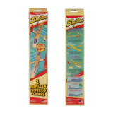 Sky Streak Propeller Powered Balsa Wood Plane Toy