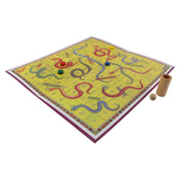 Classic Kids Snakes and Ladders Fun Board Game