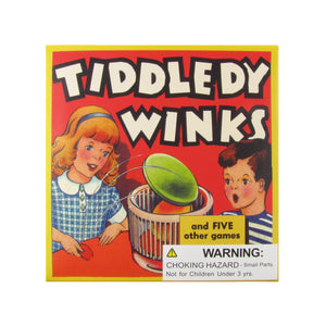 Classic Retro Family Game of Tiddllywinks for Kids and Adults