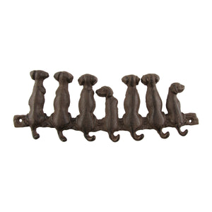 Dogs Tail Wall Mount Hook Rack Gift
