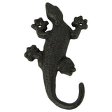 Metal Wall Mount Gecko Key Ring Hook