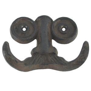 Nose Spectacles, Mustache Face Wall Hook
