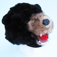 Grizzly Black Bear Costume Fur Boy/Girl/Adult Hat