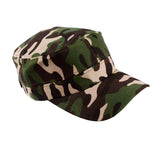 Men/Women Army Camo Adjustable Canvas Hat