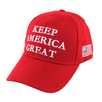 President Donald Trump 2020 Red KAG Hat Keep America Great US Flag USA Cap Gift