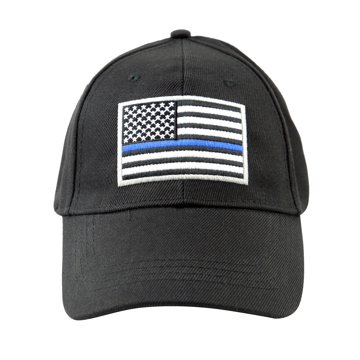 Embroidered Thin Blue Line Hat Police Officer Lives Matter Us American Treasuregurus