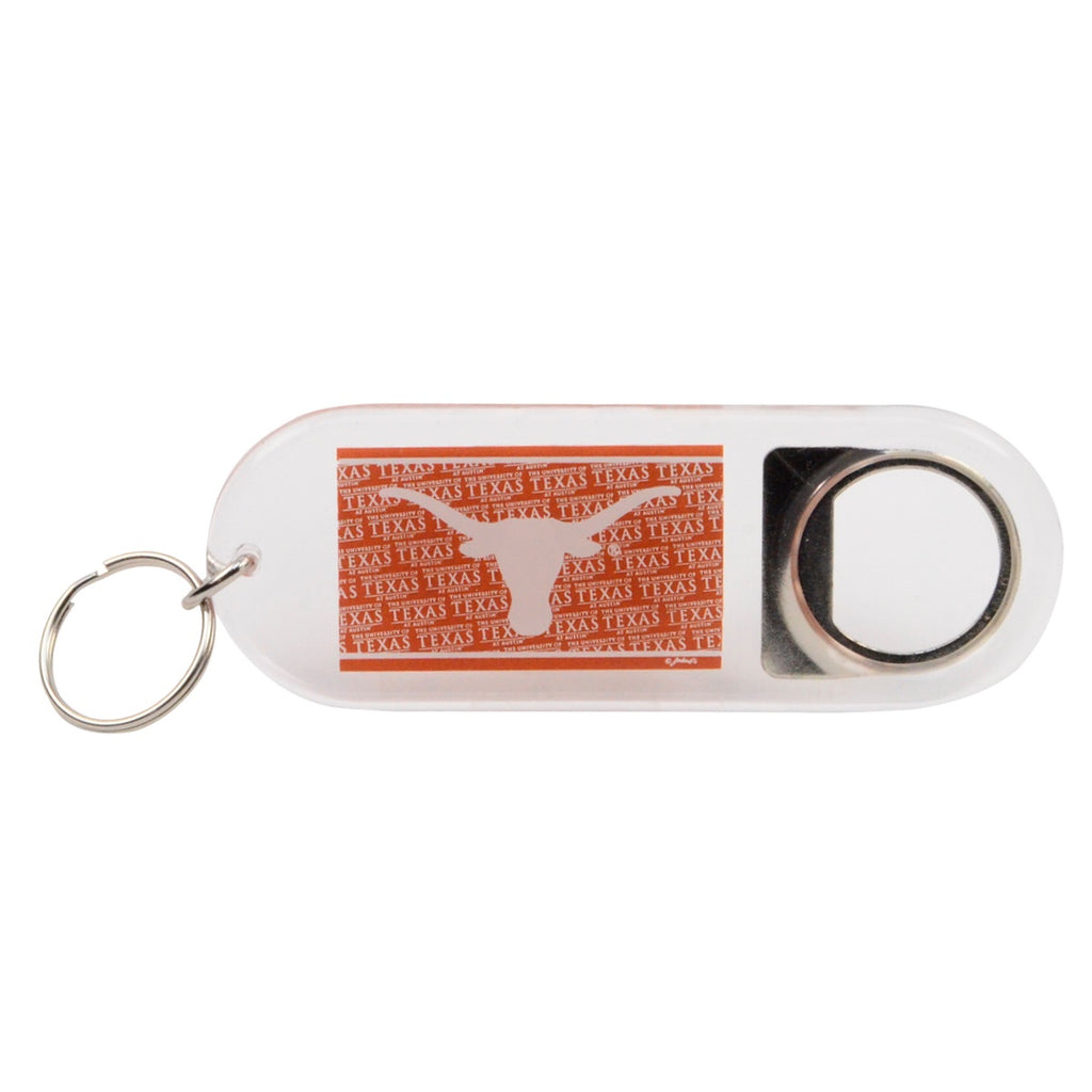Texas Longhorns Beer/Soda Bottle Opener Keychain