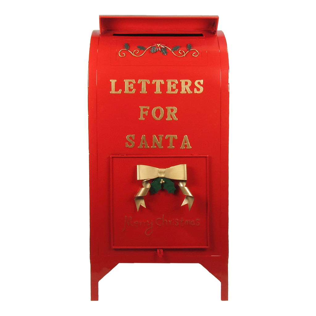 letters to santa mailboxes large letters for santa mailbox decoration 8238