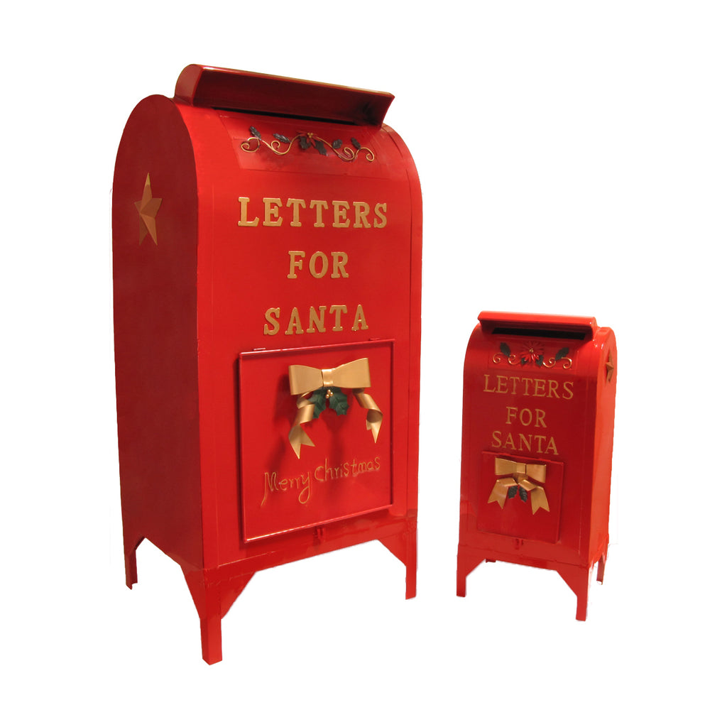 Large Letters For Santa Mailbox Christmas Decoration