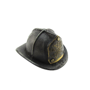 Cast Iron Firefighter Helmet Beer/Soda Bottle Opener