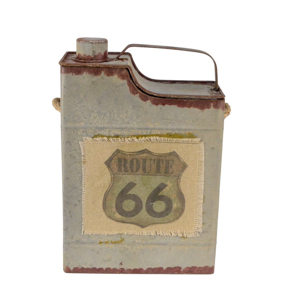 Vintage Route 66 1 Gallon Gasoline Can