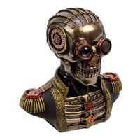 Steampunk Military Uniform Bust Stash Box