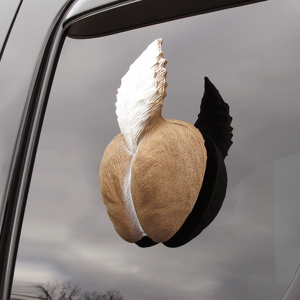 3d Deer Butt Truck Window Cling Hunting Gag Gift