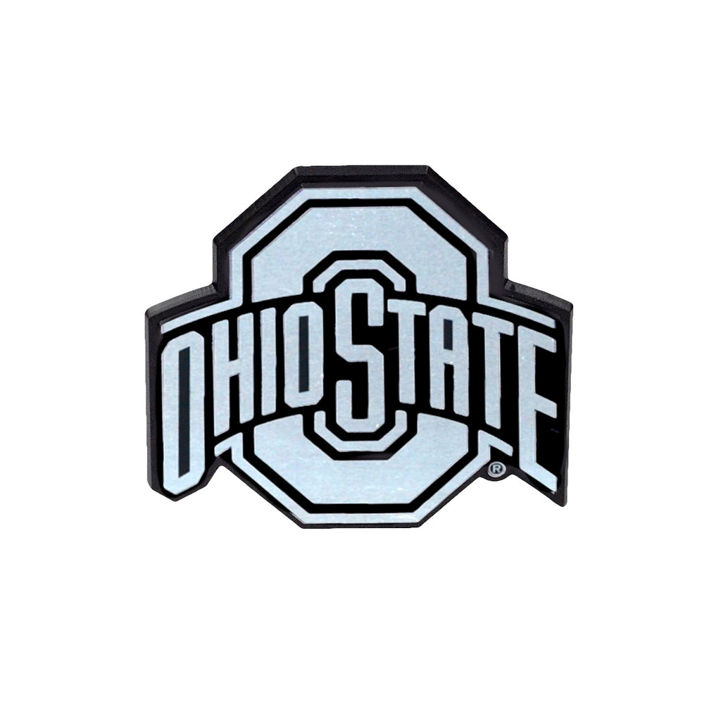 THE Ohio State Reflective Chrome 3-D Decal Sticker